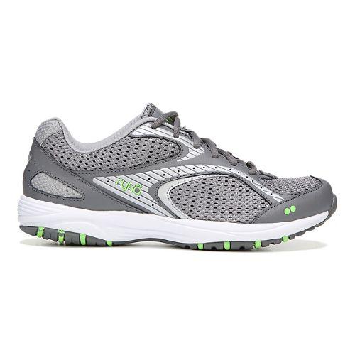 Womens Ryka Dash 2 Walking Shoe - Grey/Silver 6.5