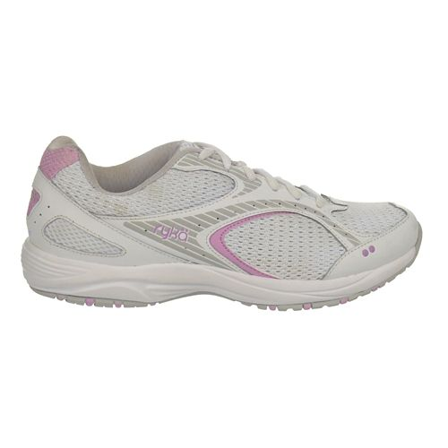 Womens Ryka Dash 2 Walking Shoe - White/Met Lake Blue 7.5