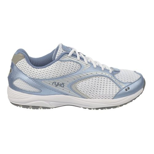 Womens Ryka Dash 2 Walking Shoe - White/Fairy Lavender 9