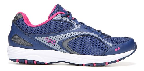Womens Ryka Dash 2 Walking Shoe - Navy/Grey 6.5