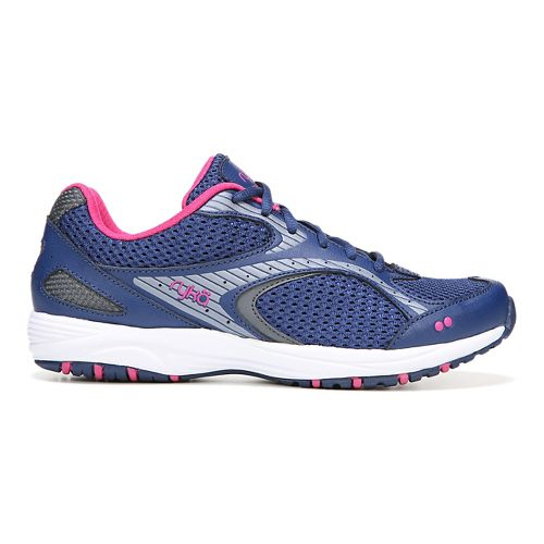 Womens Ryka Dash 2 Walking Shoe - Navy/Grey 9.5