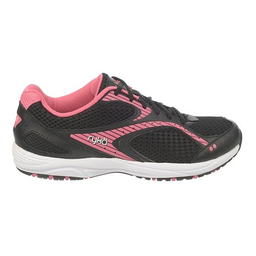 Womens Ryka Dash 2 Walking Shoe - Black/Hot Pink 9.5