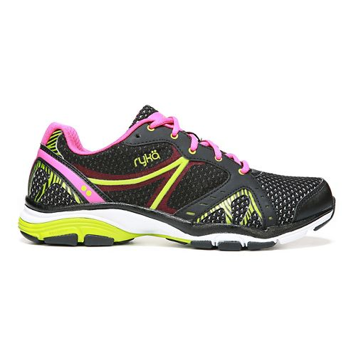 Womens Ryka Vida RZX Cross Training Shoe - Black/Ryka Pink 10.5