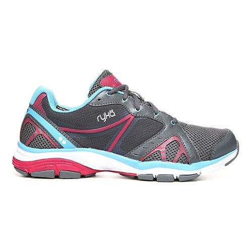 Womens Ryka Vida RZX Cross Training Shoe - Iron Grey/Blue 7.5
