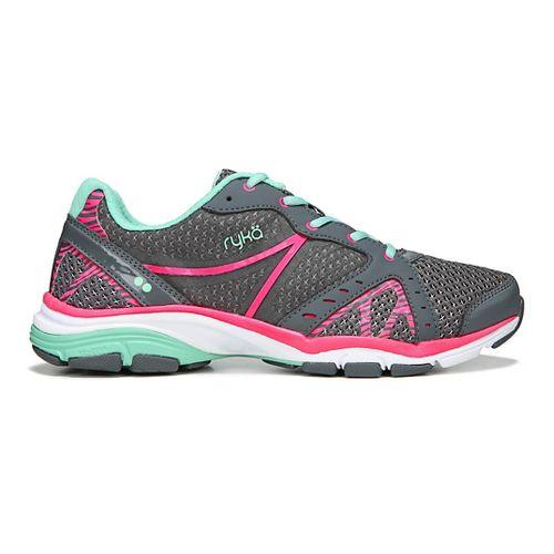 Womens Ryka Vida RZX Cross Training Shoe - Grey/Pink/Mint 8.5
