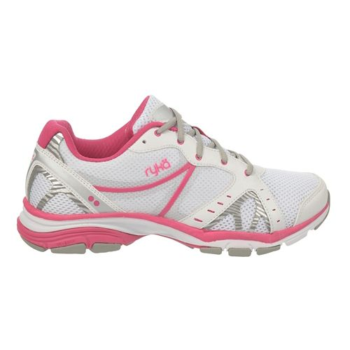 Womens Ryka Vida RZX Cross Training Shoe - White/Chrome Silver 6