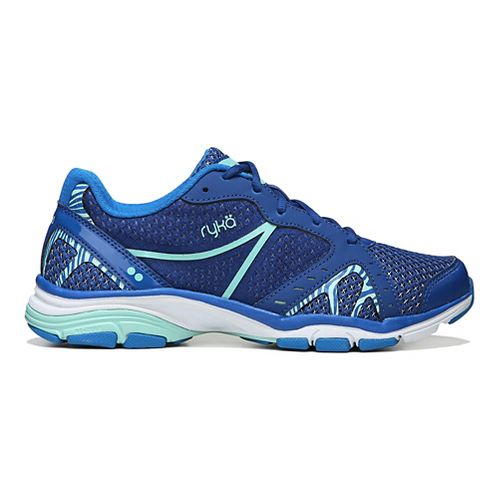 Womens Ryka Vida RZX Cross Training Shoe - Blue/Mint 10.5