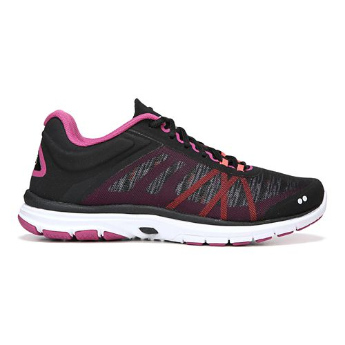 Womens Ryka Dynamic 2 Cross Training Shoe - Black/Pink 10.5