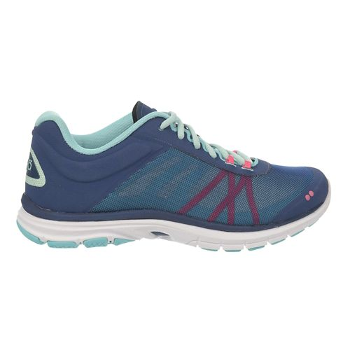 Womens Ryka Dynamic 2 Cross Training Shoe - Jet Ink Blue/MintIce 9.5