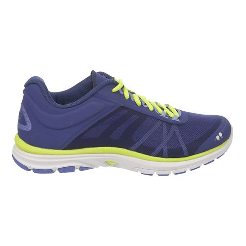 Womens Ryka Dynamic 2 Cross Training Shoe - Indigo Purple/Lime 8.5