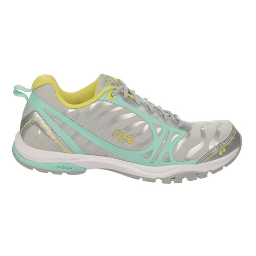 Womens Ryka Fit Pro 2 Cross Training Shoe - CoolMist Grey/Silver 9