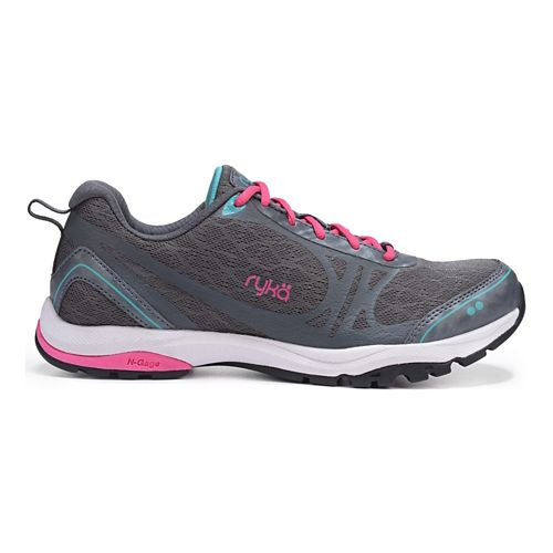 Womens Ryka Fit Pro 2 Cross Training Shoe - Grey/Teal Blast 6