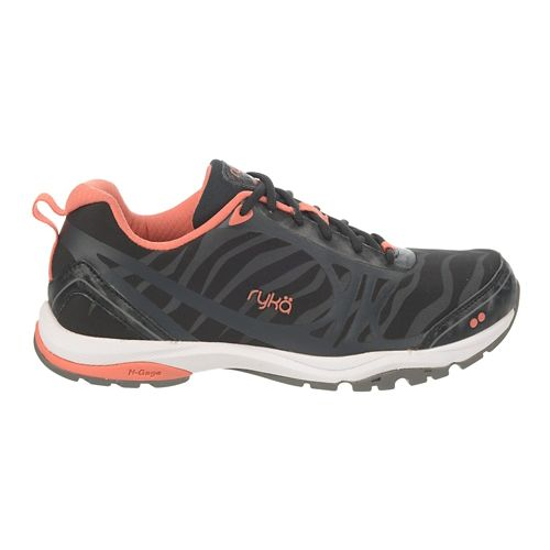 Womens Ryka Fit Pro 2 Cross Training Shoe - Black/Steel Grey 6