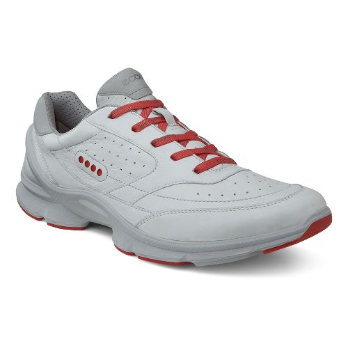 Womens Ecco Biom Evo II Cross Training Shoe - White/Poppy 38
