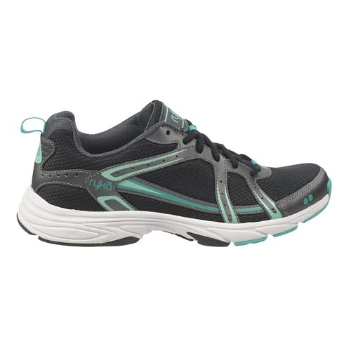 Womens Ryka Approach Cross Training Shoe - Black/Iron Grey 5.5