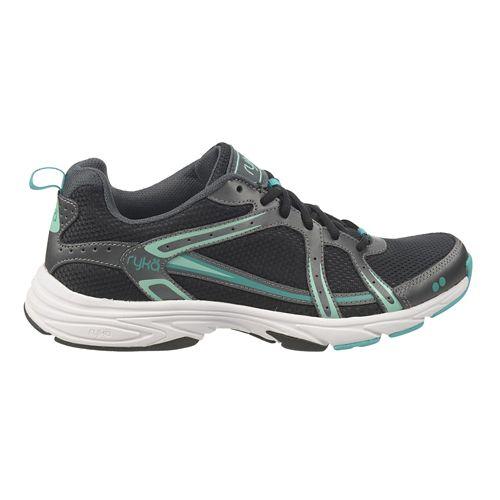 Womens Ryka Approach Cross Training Shoe - Black/Iron Grey 7.5