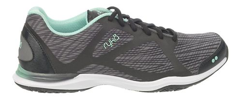 Womens Ryka Grafik Cross Training Shoe - Black/Iron Grey 10.5