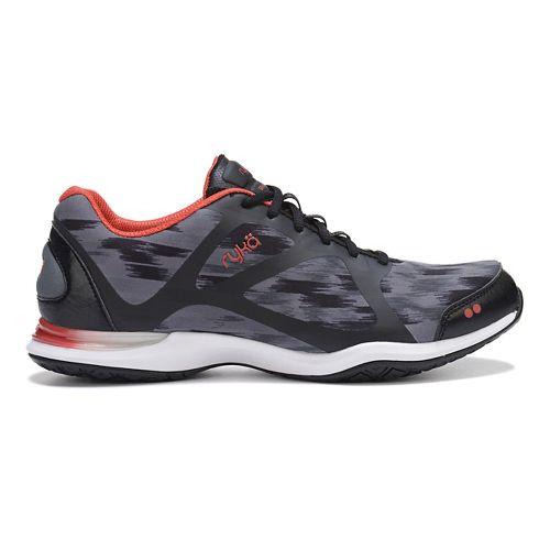 Womens Ryka Grafik Cross Training Shoe - Black/Grey 8