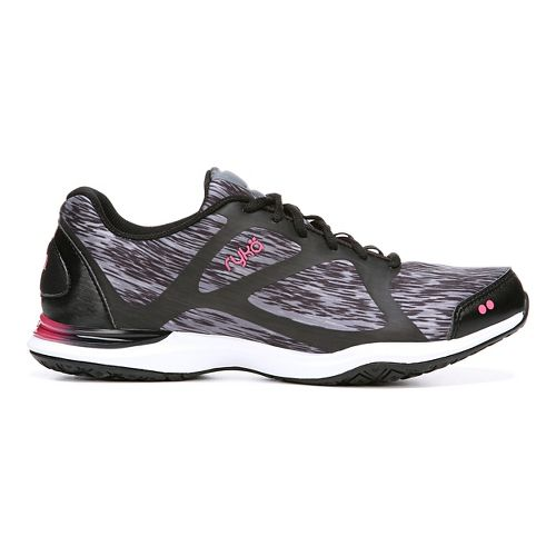 Womens Ryka Grafik Cross Training Shoe - Black/Iron Grey 8