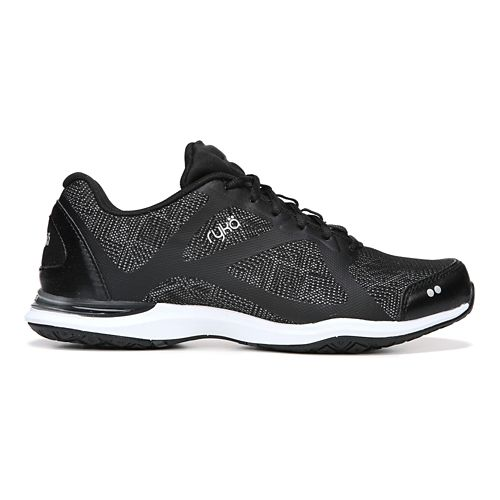 Womens Ryka Grafik Cross Training Shoe - Black/Vapor Grey 6