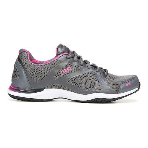 Womens Ryka Grafik Cross Training Shoe - Iron Grey/Pink 10.5