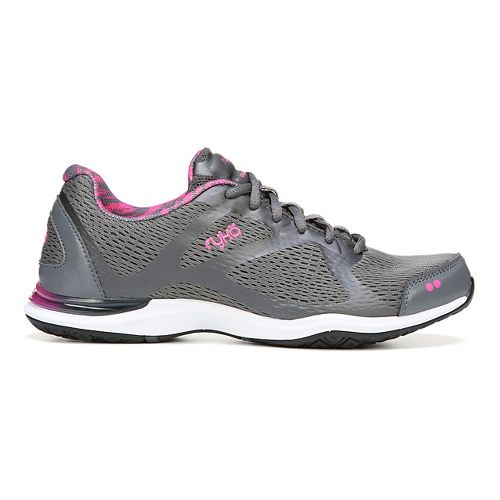 Womens Ryka Grafik Cross Training Shoe - Iron Grey/Pink 9