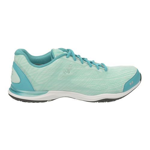 Womens Ryka Grafik Cross Training Shoe - Teal Blast/Mint Ice 6.5