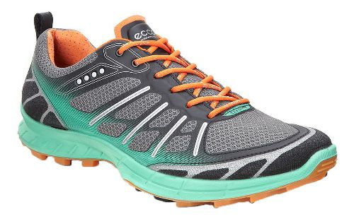 Womens Ecco Biom FL Lite Trail Running Shoe - Granite Green 40