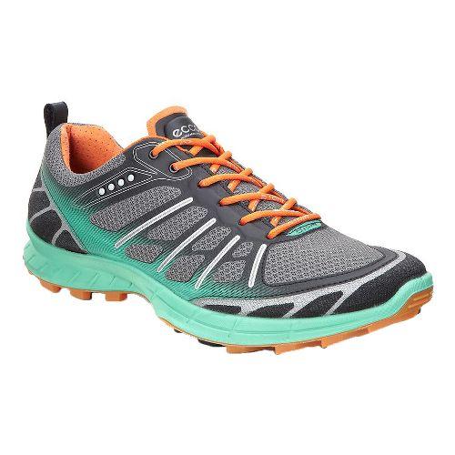 Womens Ecco Biom FL Lite Trail Running Shoe - Granite Green 42