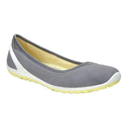 Womens Ecco Biom Lite Ballerina Casual Shoe - Titanium 36