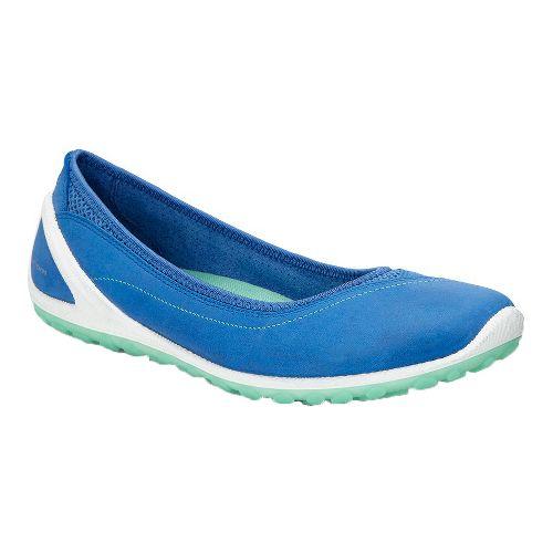 Womens Ecco Biom Lite Ballerina Casual Shoe - Cobalt 42
