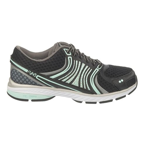 Womens Ryka Kora Running Shoe - Black/Steel Grey 9.5