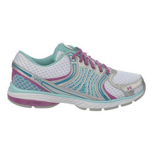 Womens Ryka Kora Running Shoe - White/Aqua Sky 6.5