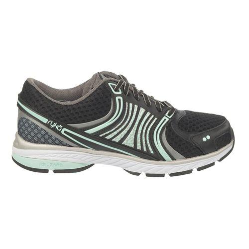 Womens Ryka Kora Running Shoe - Black/Steel Grey 6