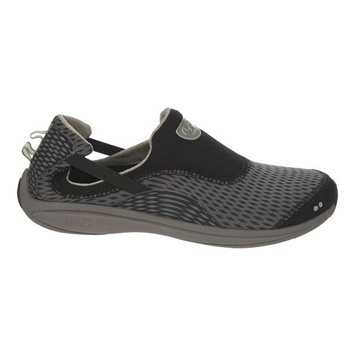Womens Ryka Swift Casual Shoe - Black/Steel Gold 6.5