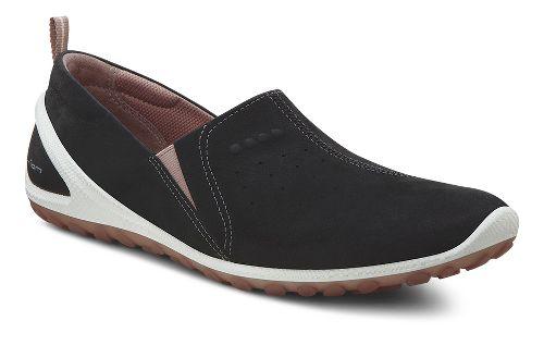 Womens Ecco Biom Lite Slide Casual Shoe - Black 36