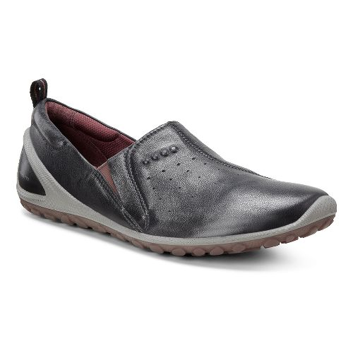 Womens Ecco Biom Lite Slide Casual Shoe - Black/Petal Trim 41