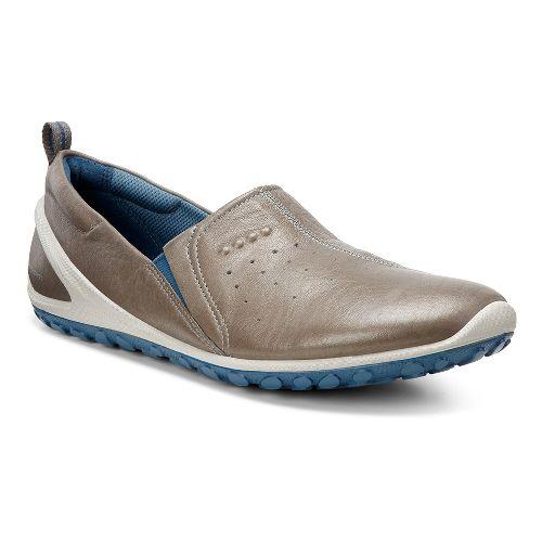 Womens Ecco Biom Lite Slide Casual Shoe - Warm Grey/Sea Port 40