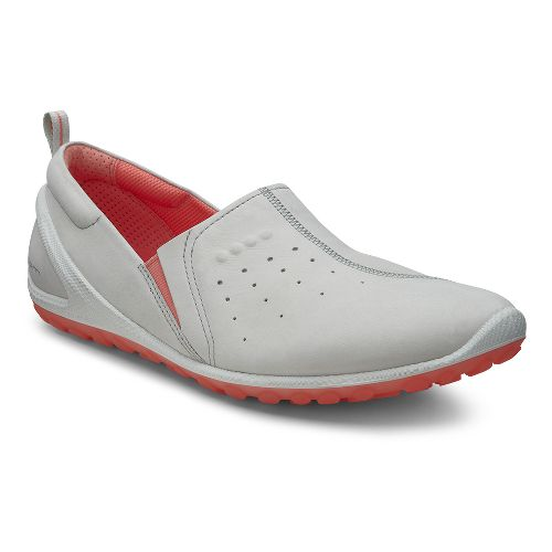 Womens Ecco Biom Lite Slide Casual Shoe - Shadow White 37