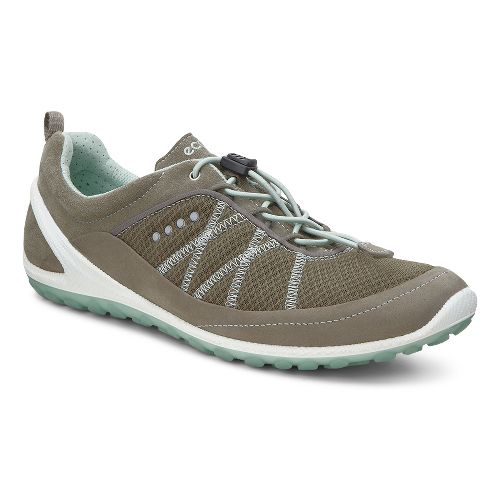 Womens Ecco Biom Lite Speedlace Casual Shoe - Warm Grey 41