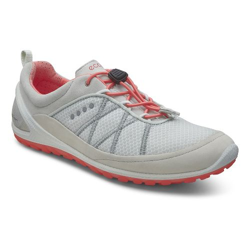 Womens Ecco Biom Lite Speedlace Casual Shoe - Shadow White 36