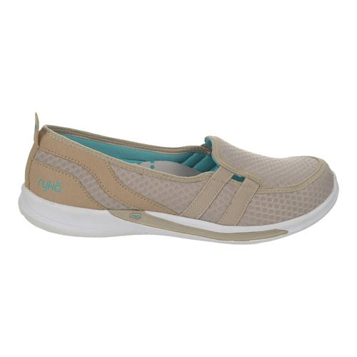 Womens Ryka Lily Casual Shoe - Moonrock/Teal Blast 6