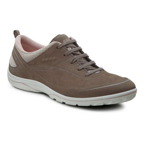 Womens Ecco Arizona Tie Casual Shoe - Warm Grey 39