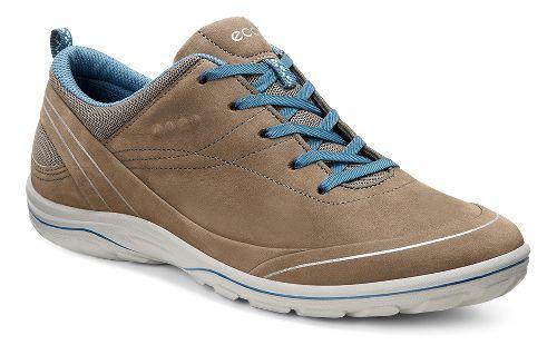 Womens Ecco Arizona Tie Casual Shoe - Birch/Sea Port 37