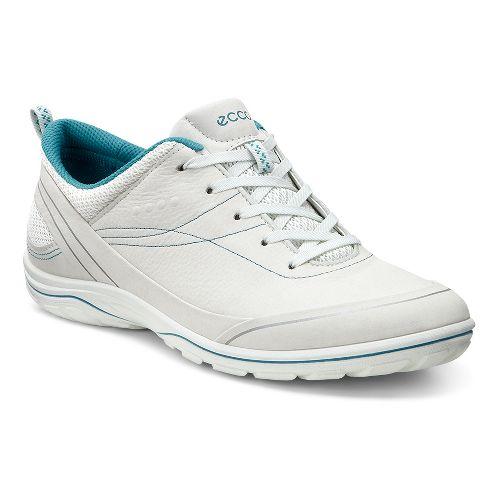Womens Ecco Arizona Tie Casual Shoe - Shadow White 37