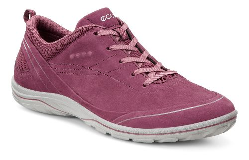 Womens Ecco Arizona Tie Casual Shoe - Morillo/Petal Trim 36