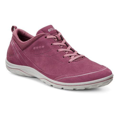 Womens Ecco Arizona Tie Casual Shoe - Morillo/Petal Trim 36