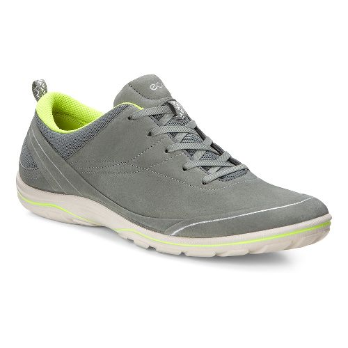 Womens Ecco Arizona Tie Casual Shoe - Moon/Lime Punch 42