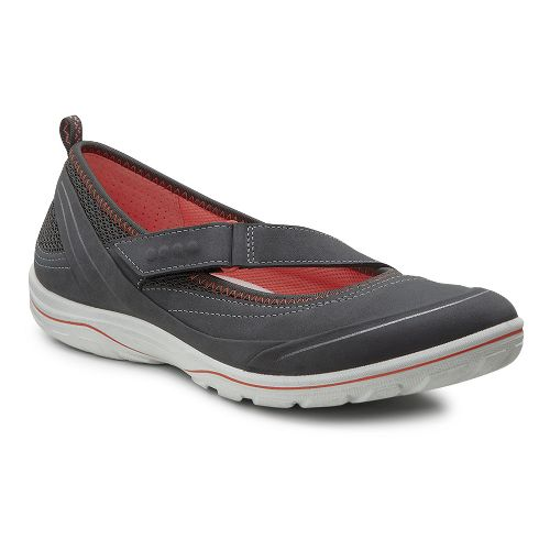 Womens Ecco Arizona MJ Casual Shoe - Dark Shadow 42