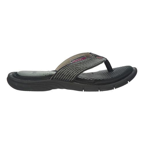 Womens Ryka Roanoke Sandals Shoe - Black/Ryka Pink 6